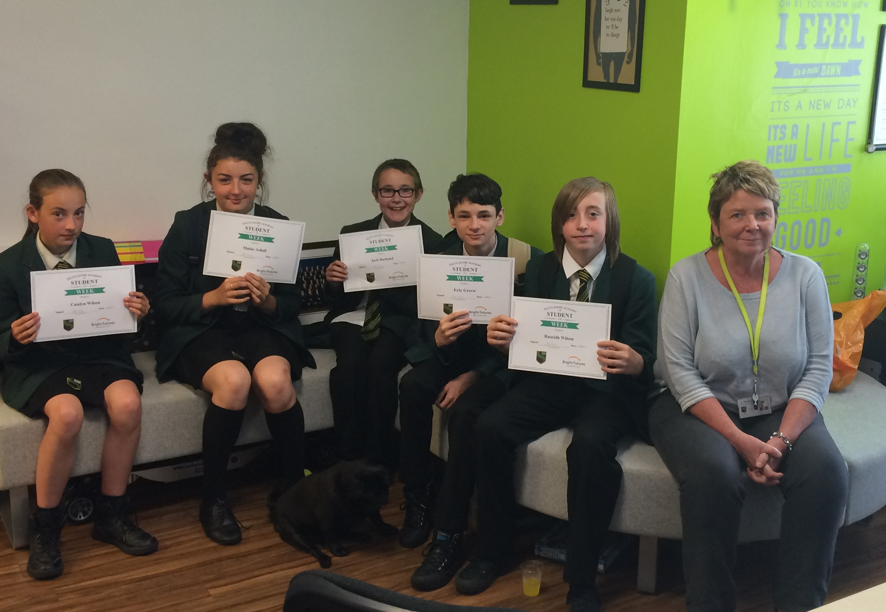 Students of the week 19th 23rd june 17 south shore academy a massive well done to this weeks students of the week for their hard work and efforts around school the students were rewarded with a certificate from ms xflitez Choice Image